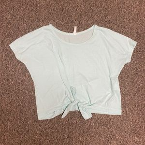 Mint green Under armour crop top